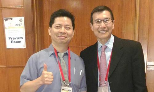 【學術交流】曾文尚醫師受邀至2017國際隆鼻大會演講及擔任座長